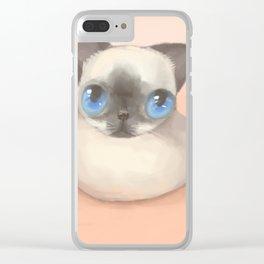 Siamese Clear iPhone Case