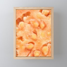 Guava fruit Framed Mini Art Print