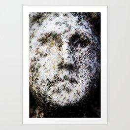 Decayed-Poughkeepsie Rural Cemetery 12/4/18 Art Print