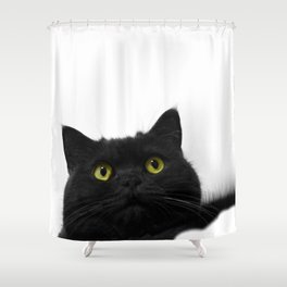 Muimui 3 Shower Curtain
