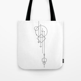 shapes and whatnot Tote Bag