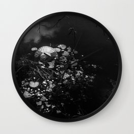 Asian poetry Wall Clock