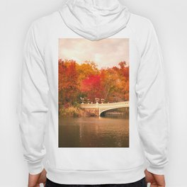 New York City Autumn Magic in Central Park Hoody