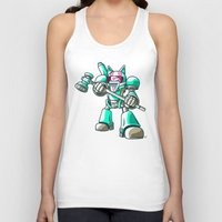 starcraft Tank Tops featuring Mech.Cat HAMMER by FoxBoy