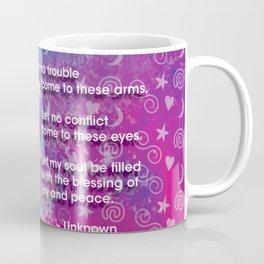 Hamsa Prayer Coffee Mug