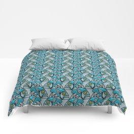 Escher Fish pattern I Comforters