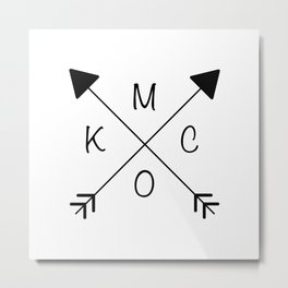 Kansas City x KCMO Metal Print
