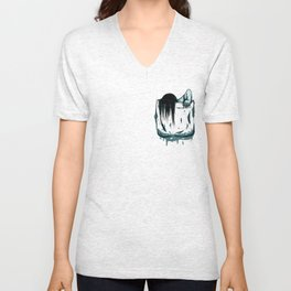 Pocket Samara Unisex V-Neck