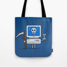 Blue Screen of Death Tote Bag