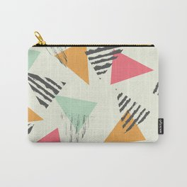 Geometric Mint Pattern Design 015 Carry-All Pouch