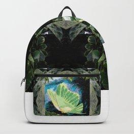 Luna Moth In Ivy Backpack