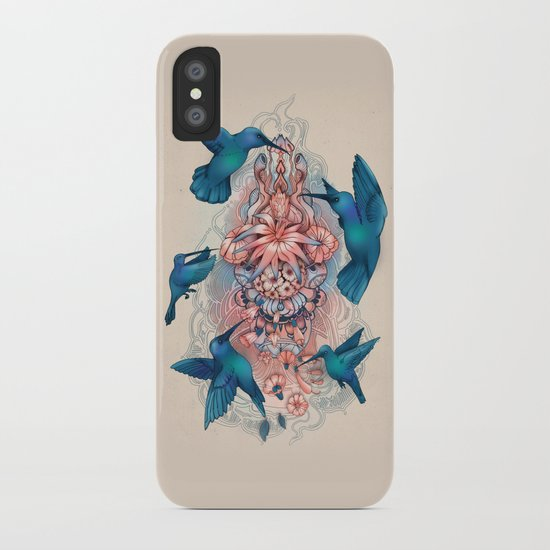 kolibri iPhone Case