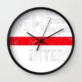Grey's anatomy - SGH Intern Wall Clock