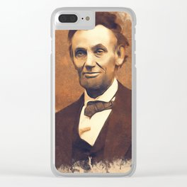 Abraham Lincoln, President, United States of America Clear iPhone Case