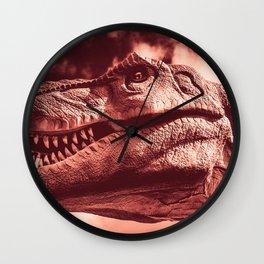 Dinosaur sephia Wall Clock