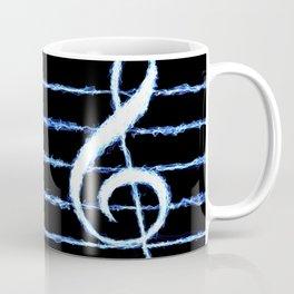 Treble Clef Lightning *revised Coffee Mug