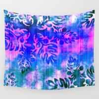 hawaiian Wall Tapestries featuring Hawaiian Holiday by Vikki Salmela