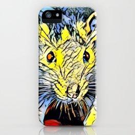 Color Kick - Rat iPhone Case
