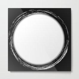 Circle Copy Space Metal Print