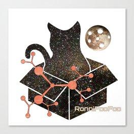 Schrodinger's Catsmic FooFoo Canvas Print