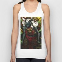 dragon age Tank Tops featuring Dragon Age UNBOUND by IVIDraws