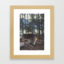 Summer Fires Framed Art Print