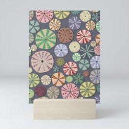Sea Urchins - Pattern Mini Art Print