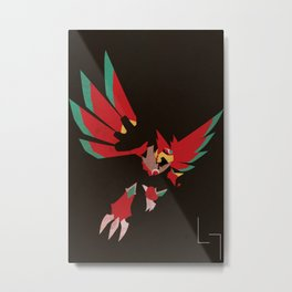 Falzar Beast Out Metal Print