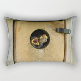 Feed Me! Rectangular Pillow