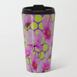 GRUNGY ANTIQUE SHABBY CHIC COSMOS Travel Mug