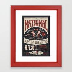 The National Framed Art Print