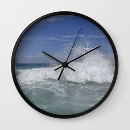 Crashing Wave Wall Clock