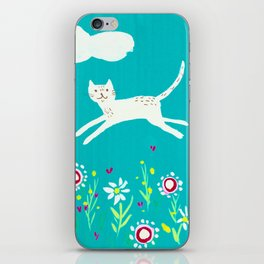 Spring Frolic iPhone Skin