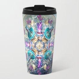 Ocean Jewels Jellyfish And Pearl Travel Mug