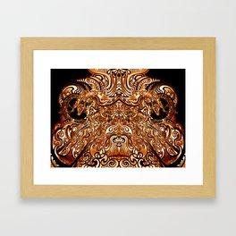 Divine Chariot Framed Art Print
