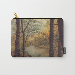 Over the River Through the Woods Carry-All Pouch