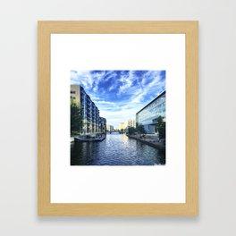 Reflection on Reflection Framed Art Print