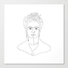 Doña Frida Kahlo Canvas Print