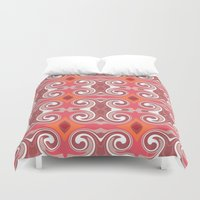 spice Duvet Covers featuring Marrakech Spice by ALLY COXON