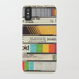 VHS Detail I iPhone Case