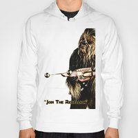 chewbacca Hoodies featuring Chewbacca by KL Design Solutions