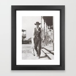 The Long Arm of The Law Framed Art Print