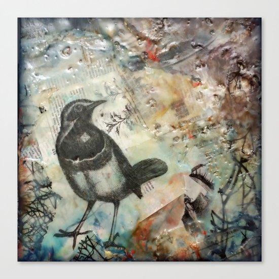 Magpie Canvas Print