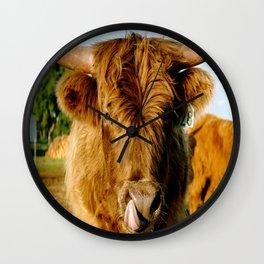 Scottish Highland Wall Clock