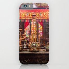 Tin Hau Temple Garden, Hong Kong iPhone Case