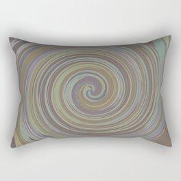 VERTIGO BROWN Rectangular Pillow