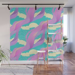 """look up"" pattern Wall Mural"