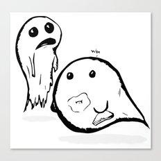 2Spooky Ghosties Canvas Print