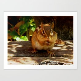 Chippy #1 Art Print