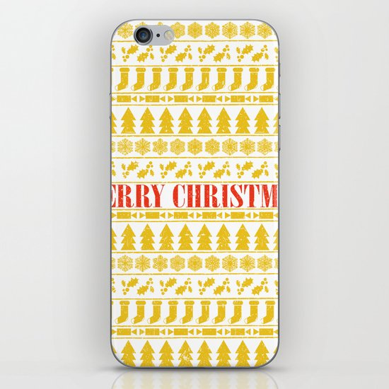 Christmas Merry! iPhone & iPod Skin